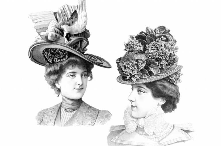 old timey hats