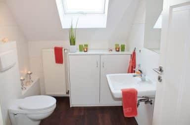 bathroom set-up
