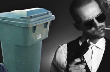 mobster trash