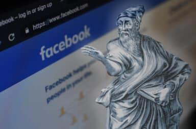 ancient greek ghost facebook