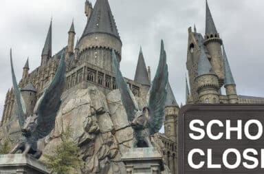 hogwarts is closed