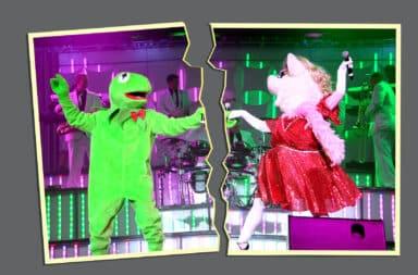 kermit and ms piggy muppet sad
