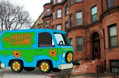 mystery machine gentrifying