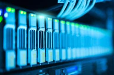 Amazon cloud server lights