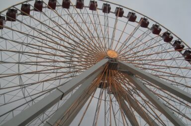 the wheel by ferris, hop on