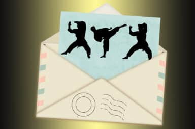 mail in karate