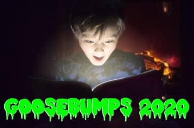 goosebumps are scary books