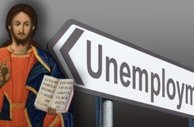 jesus is unemployed