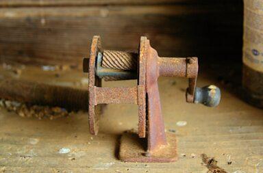 the old sharpener