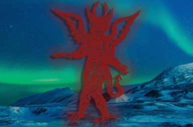 satan in the north pole