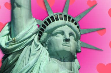statue of liberty love