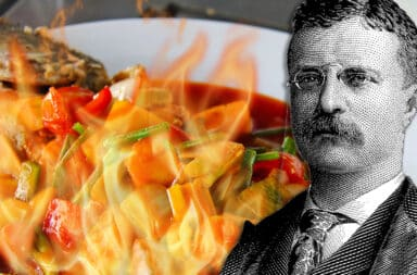 teddy roosevelt faces the spice
