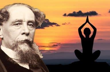charles dicken yoga man