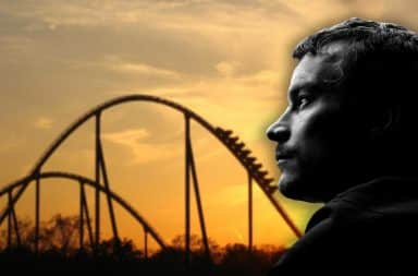 roller coaster making me sad