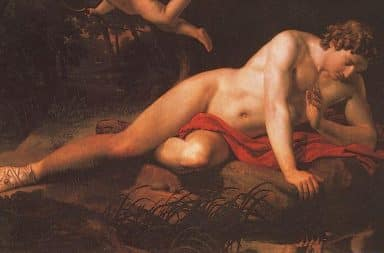 narcissus greek god