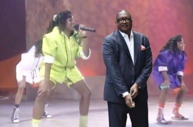 Beyonce's dad on Star Search with Girls Tyme