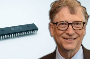 bill gates and the chip