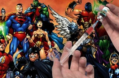 justice league shot vaccine