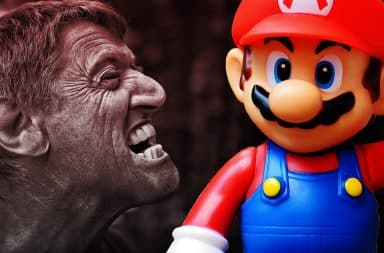 mad at mario the guy