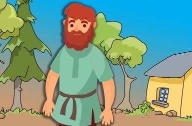 cartoon peasant guy