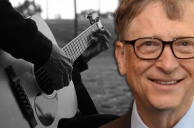 bill gates guitar guy