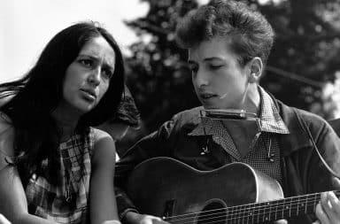 bob dylan joan baez guitar and harmonica too