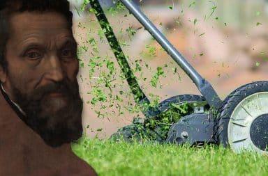 Michelangelo lawn mower