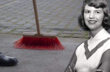 plath sweeping broom