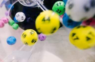 Powerballs whirling around