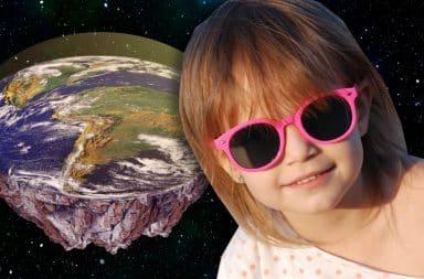 summer kid flat earth