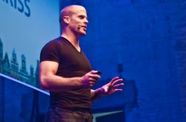 Tim Ferriss at a conference