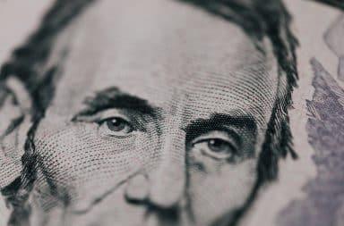 Abe Lincoln five dollar bill