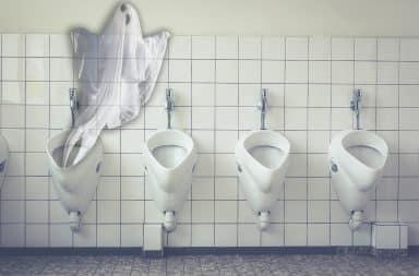 haunted toilet