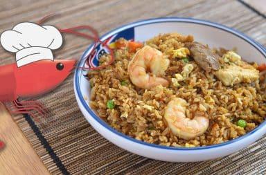 shrimp chef fried rice