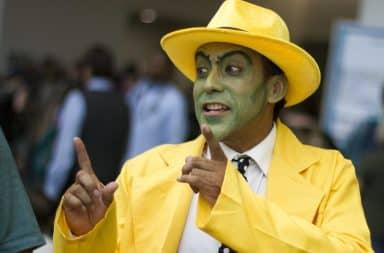 Ace Ventura suit costume