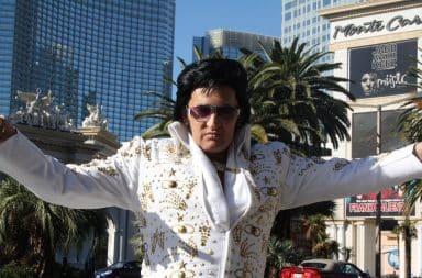 Elvis Presley in Las Vegas