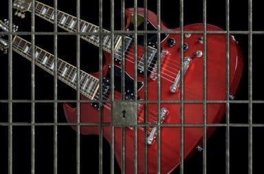 guitar in jail