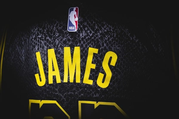 LeBron James's NBA jersey