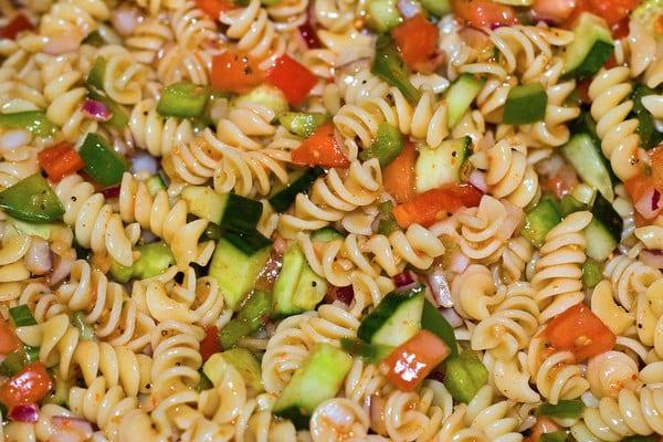 Glen Lentil's Dangerous Pasta Salad
