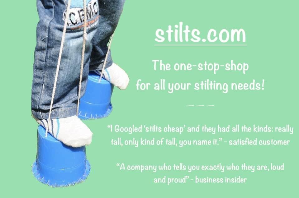 Stilts.com ad