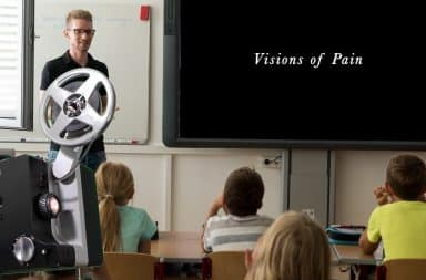 screening visions of pain for the kids