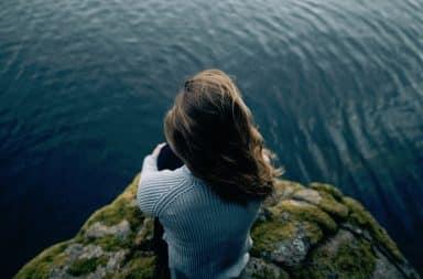 cliffside lady