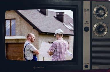 construction on TV