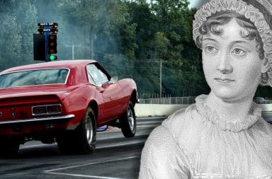 jane austen fast and furious cars