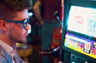 Gamble man in sunglasses