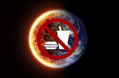no food planet is burning