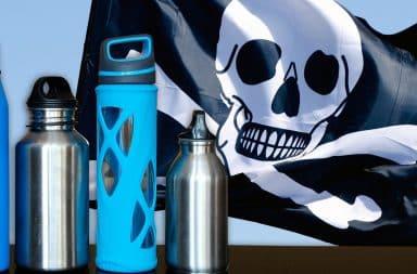 water bottles pirates
