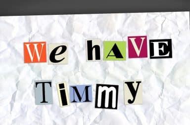ransom note -- timmy, no!