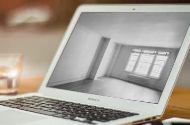apartment laptop