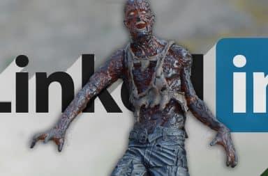 zombie on linkedin